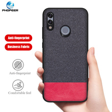 PHOPEER Case for Huawei P Smart 2019 case Soft silicone fabric cloth protective cover Honor 10 Lite (2019)