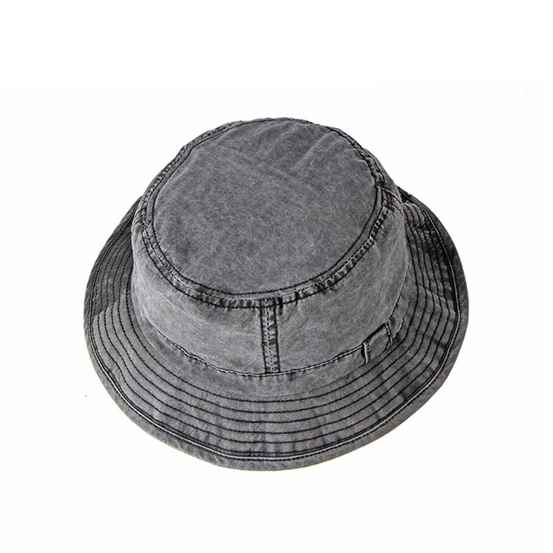 XdanqinX Adult Men s Cap Washable 100% Cotton Bucket Hats Spring Summer  Simple Beach Hat Fashion Fishing Caps Panama Dad s Hat-in Bucket Hats from  Apparel ... 44a6211f930