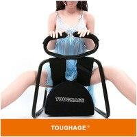 TOUGHAGE 2 in1 сиденье для занятия сексом Клин Подушки надувные подушки для взрослых мебель позиции S стулья БДСМ мебели