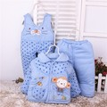 2016 Winter Newborn Baby Boys Girls Clothing Sets Infant Cartoon Cotton Suit Toddler Warm Thick cotton-padded Jacket Suit 3pcs
