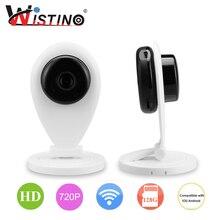 CCTV Wi-Fi Ip-камера Беспроводная P2P Мини Радионяня HD 720 P Сетевой Безопасности Умный Дом Мобильный Пульт Дистанционного CMOS Wistino наблюдения