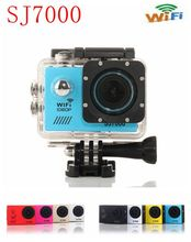 Sport Action Camera SJ7000 wifi Underwater 30M Waterproof Full1080P HD 2.0 LTPS Sports cam Mini Camcorder Helmet Cam