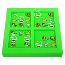 Quality New Kids Children Animal Maze Puzzle IQ Mind Logic Brain Teaser Puzzles Game Toys