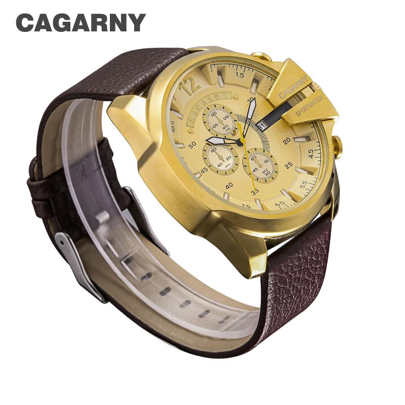 cagarny dz style quartz watch men golden mens watches (14)