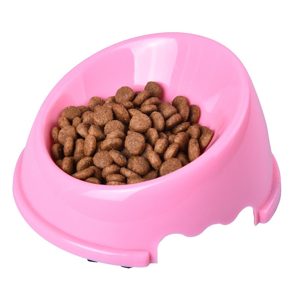 Oblique Mouth Solid Bowl Pet Cat Kleine dierenhond Willekeurig - Producten voor huisdieren - Foto 6