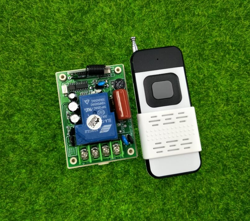 New 30a Relay 1 Guang Rf Wireless Remote Control Switch