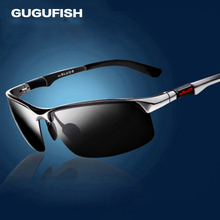 GUGUFISH Aluminum magnesium polarized sunglasses male Fishing glasses leisure polarized fishing eyewear ride sunglasses eyewear