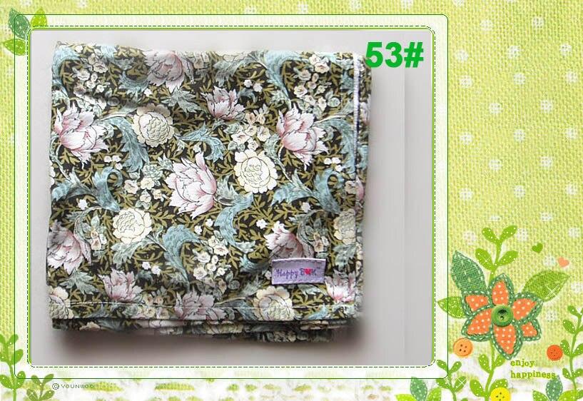 Крышка для грудного вскармливания, дышащая хлопковая муслиновая ткань для кормления, крышка для кормления - Цвет: 53