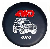14 Spare Tire Wheel Cover Case Protector PVC Leather Space Saving accessories for Suzuki Jimny Grand Vitara