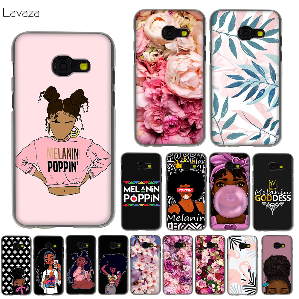 Lavaza 2bunz Melanin Poppin Aba Black Girl Case for Samsung Galaxy Note 9 8 J7 J5 J3 A8 A6 A5 A3 2017 2018 Prime