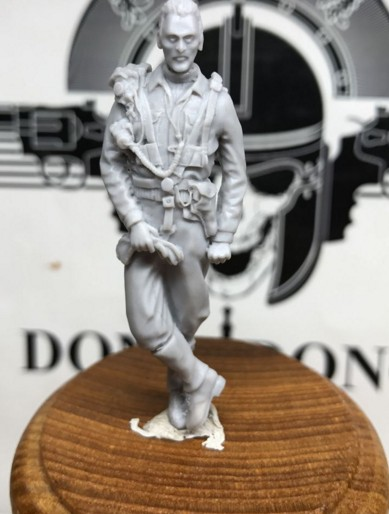 1/32 scale WW2 Allied pilots standing WWII Resin Model Kit figure Free Shipping scuba dive light