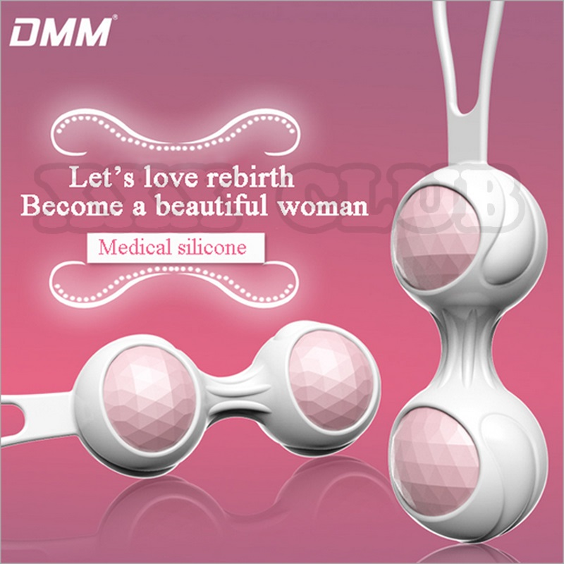 DMM Kegel Ball Vagina exercise Vaginal Trainer Love Ball,Sex Ben Wa Balls Pussy Muscle Training Vibrator Sex Toys Sex Products exercise 100% medical vibrator balls vibrating sex toys vaginal ball love sex machine strong adult products for woman