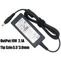100% nuevo adaptador de netbook 19 v 2.1A Adaptador de Corriente Ac cargador Para samsung nc10 nc20 nd10 nb30 nc110 n210 n310 n120 n140 n148 N150
