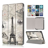 For New IPad 2017 PU Leather Case Cover 9 7 Tablet Cases Colorful Protective Stand Fundas