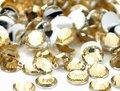 6mm Lt.Coffee Color SS30 crystal Resin rhinestones flatback Nail Art Rhinestones,10,000pcs/bag