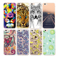 Tpu soft phone case para el iphone 5s 6 6 s 5 5c sí 4S 4 para samsung galaxy j5 j3 2015 s7 s3 s4 s5 s6 a7 a3 a5 2016 patrón cubierta