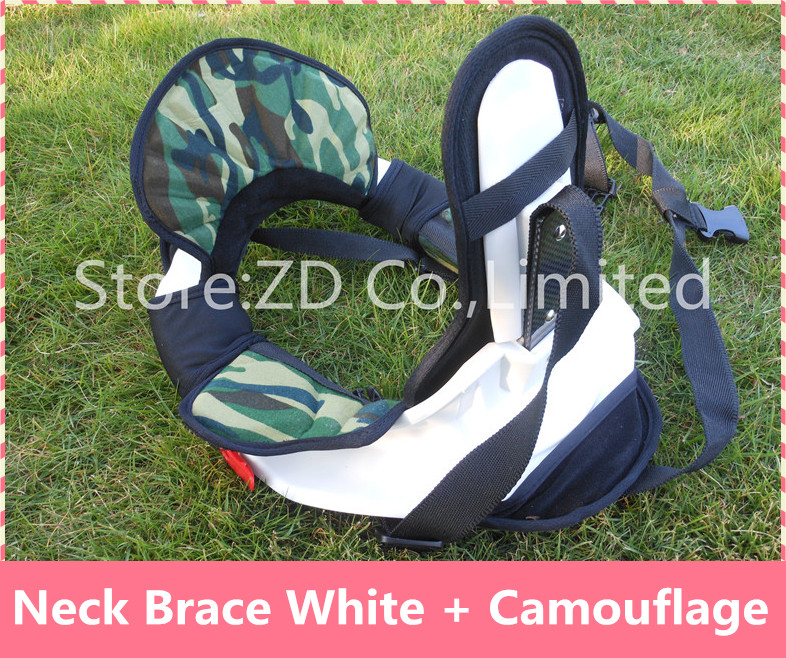 PP Shell Camouflage Motocross Neck Brace Guard Around Protection Protector For Riding Racing Bicycle Motorcycle 4 Size Together цена и фото