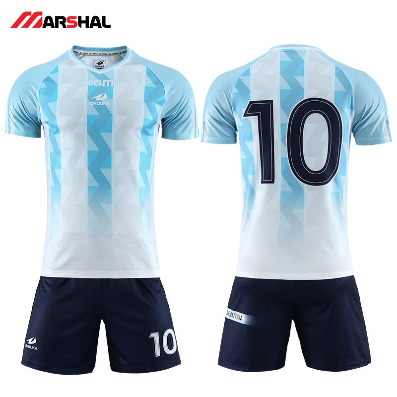 67c39574635 Customized Youth authentic soccer jerseys football kits custom team uniform  design professional soccer jersey Sports cloth