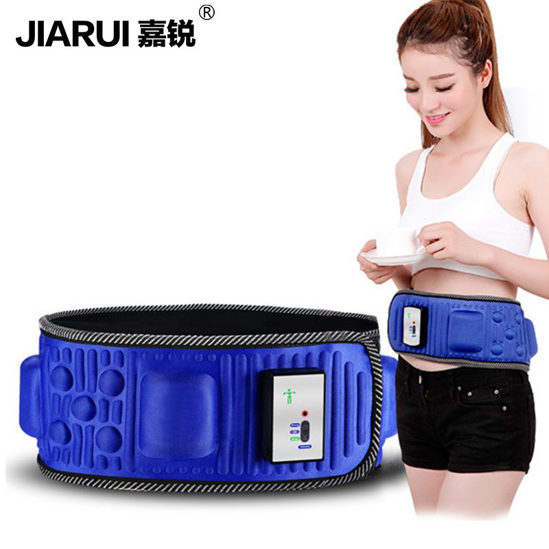 Slimming Belt Electric Weight Lose Sauna Belt Vibration Massage Burning Fat Lose Weight Shake Belt Waist Trainer abdomen reduce weight thin waist belt 4800times min vibration massage rejection fat weight lose shake shake belt slimming belts