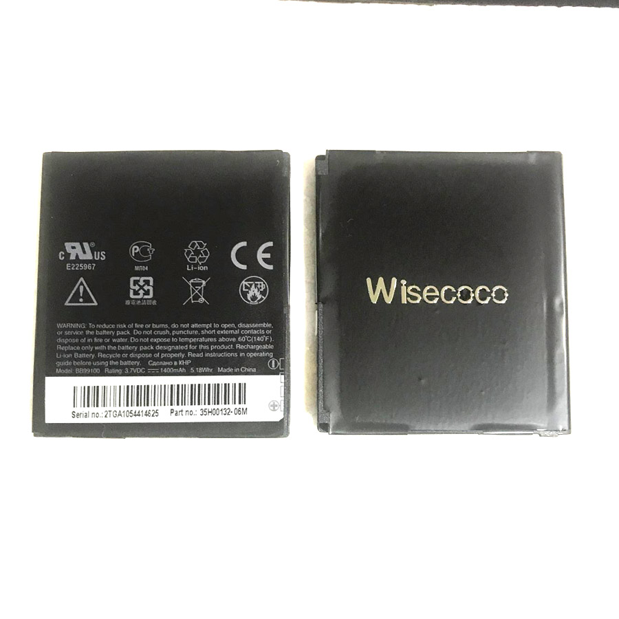 Wisecoco NEW In Stock BB99100 Battery For HTC For Google G5 G7 Nexus One Dragon Desire T9188 A8181 Cellphone +Tracking Number