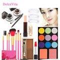 9pcs Makeup Sets Maquiagem Eye Shadow Blusher Make Up Brushes Lipstick Concealer Eyeliner Eyebrow Powder Eye-Brow Maquillaje