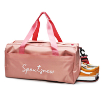 Yoga Fitness outdoor Sport training Gym bag for men women With Shoes Storage 2018 pink yellow black gym tas multi function bag