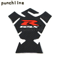For SUZUKI GSX R600 GSX R750 GSX R1000 Motorcycle Accessories Carbon Fiber Tank Pad Fuel Pad Decal Gas Emblem Protector Sticke