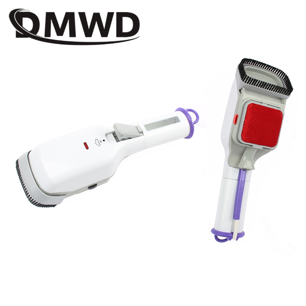 DMWD Portable Handheld Electric Steam Brush Clothes Mini Portable Travel Iron Garment Steamer Lint Remover 220V 110V EU US plug jiqi mini handheld electric clothes steaming iron household travel garment steamer portable dormitory gift 110v 220v eu us plug