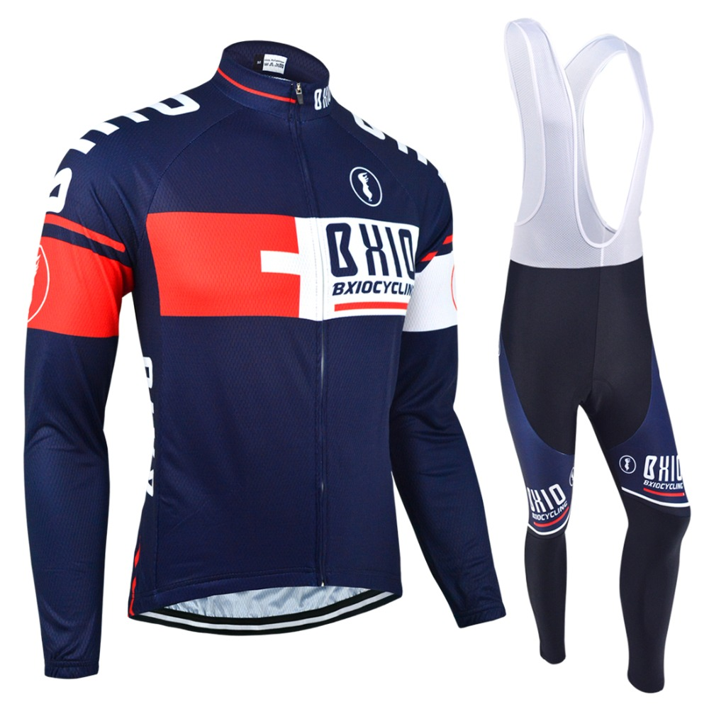 BXIO Winter Thermal Fleece Cycling Jersey Warm Long Sleeve Pro Team Bike Clothes Multi Colors Bicycle Clothing Ropa Ciclismo 025 2017 cheji winter fleece windproof cycling jersey set ropa ciclismo team mensthermal bike bicycle long sleeve clothing s xxxl