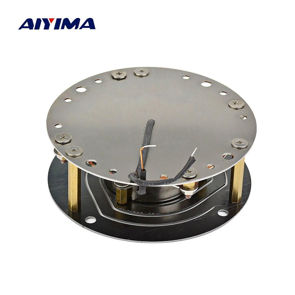 AIYIMA 3 pouces 100 W Vibration haut-parleur basse choc entraînement avion gamme complète résonance haute puissance chaise de voiture canapé musique choc bricolage 6Ohm