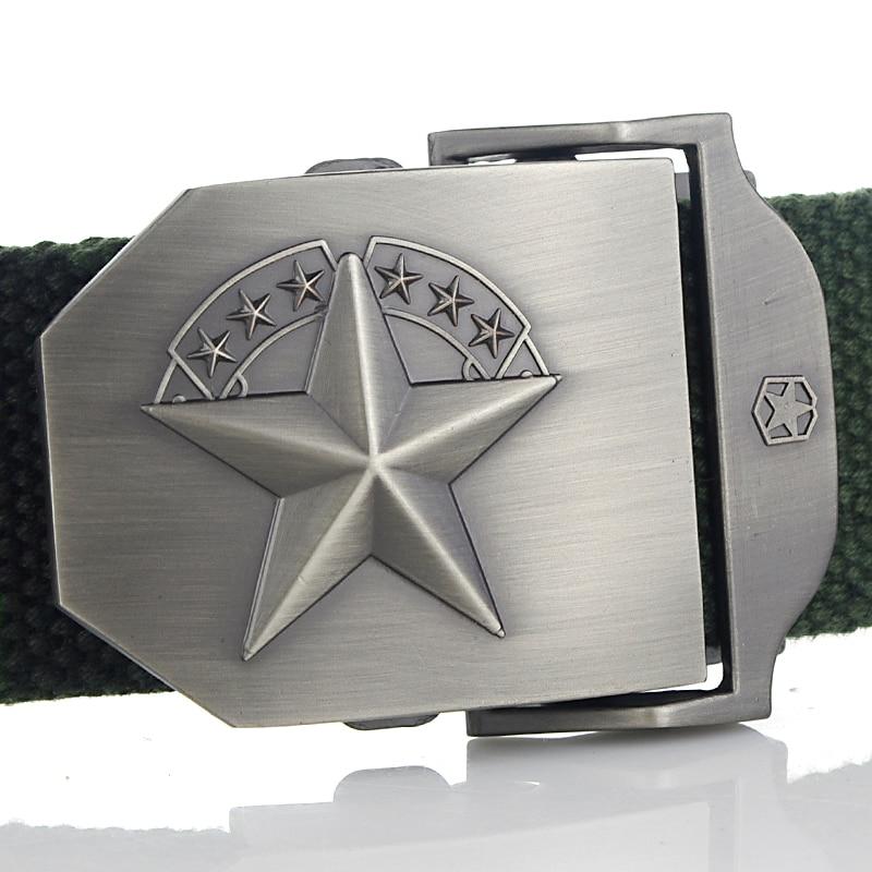 2016 Marine corps tactical Belts Cinturón de lona militar para - Accesorios para la ropa