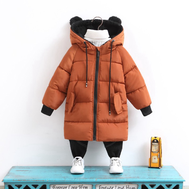 CROAL CHERIE Girls Jackets Kids Boys Coat Children Winter Outerwear & Coats Casual Baby Girls Clothes Autumn Winter Parkas (7)