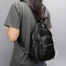Женщины рюкзак из натуральной кожи рюкзаки многофункциональный Anti theft груди школьный сумка Повседневная женские дорожные сумки