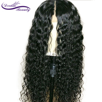 13x6 Lace Front Human Hair Curly Wigs 130% Density Brazilian Remy Hair Lace Wig Pre Plucked Hairline Dream Beauty