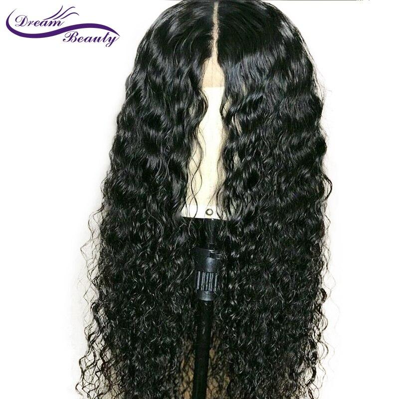 13x6 Синтетические волосы на кружеве человека вьющиеся волосы парики 130% плотность бразильский Волосы remy кружева парик предварительно сорвал...