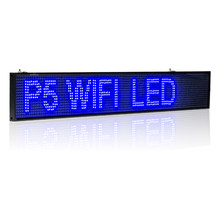 все цены на 26-in Android WIFI LED Sign wireless programmable rolling information P5 Advertising  Indoor led Display board онлайн