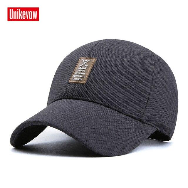 Hombres primavera y verano sombrero casual gorra de béisbol deporte con  tejido elástico d7268e032cb