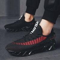 SUROM Men Summer Cushioning Running Shoes Outdoor Light Breathable Jogging Sneakers Traveling Walking Sport Shoes Men Krasovki