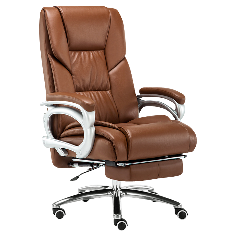 Office Chair Multifunction Office Computer Cowhide Chair Swivel Reclining Boss Chair Household Gaming Chaise Silla Oficina