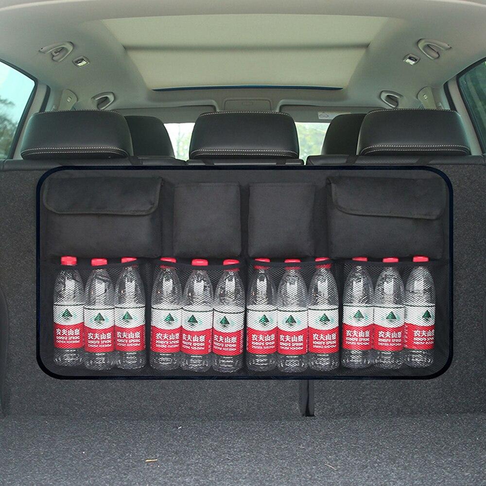 SITAILE Auto Sedile Posteriore Sacchetto di Immagazzinaggio Bagagliaio di Un'auto Auto Sedile Posteriore Trunk Organizer Ad Alta Capacità per Auto SUV MPV Auto-styling