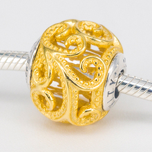 925 Sterling Silver Creativity Charm Fits Original Essence Bracelets DIY Jewelry