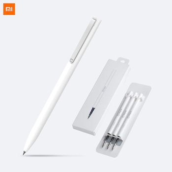 Xiaomi Mijia Pen with 0.5mm Swiss Refill 143mm Rolling Roller Ball Sign Pen Mi Xiomi Sign Signing Ballpoint Pen Video Games Stylus