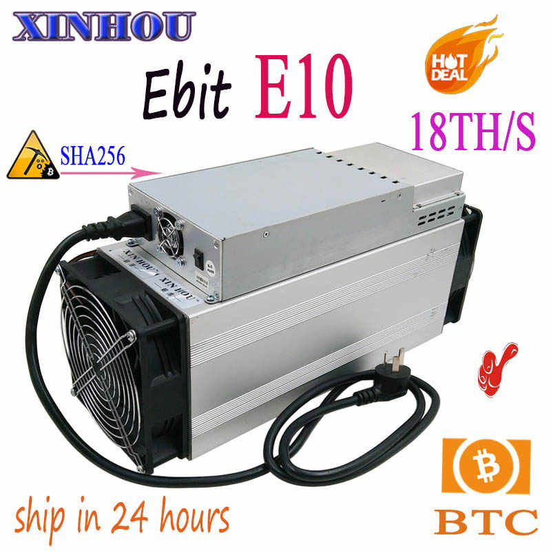 Detail Feedback Questions about Used BTC BCH Miner Ebit E10 18T