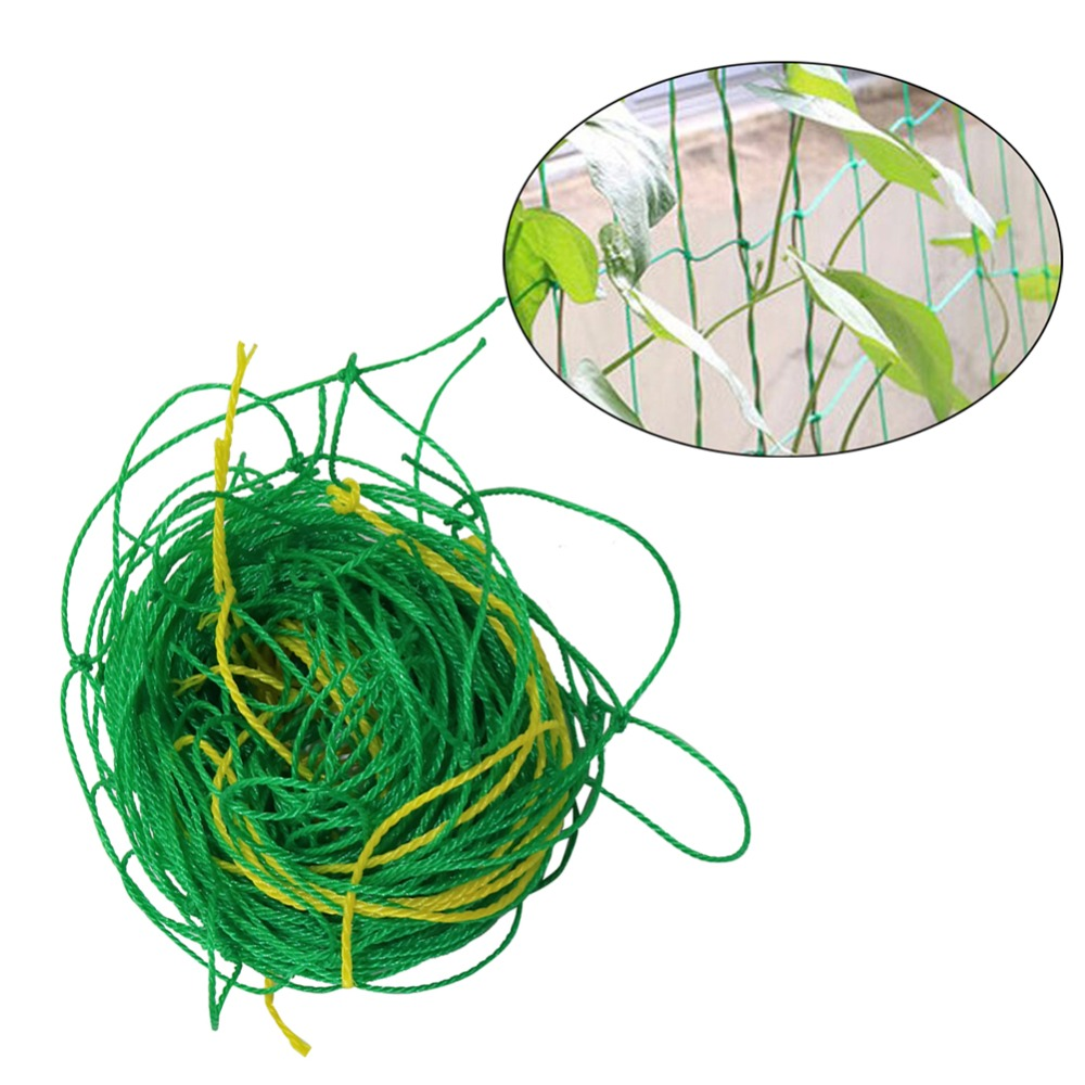 Agriculture Climbing Fence Nylon Net Greenhouse Vines Grow Fence Vegetable Plant Support Climbing Trellis Netting 1 Pc