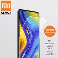 Xiaomi устойчивый к царапинам протектор экрана RedMi note7 2.5D Закаленное стекло пленка для MI9, Mi8, Mi8SE, MIX2/2 s, MIX3 защитная пленка