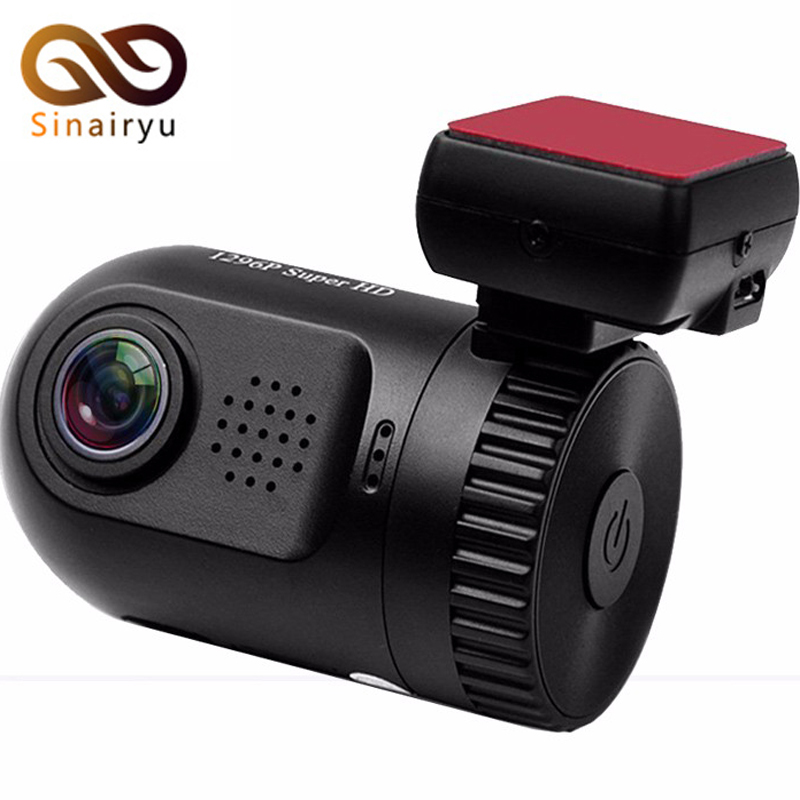 0805 Mini Car DVR Camera Ambarella A7LA50 GPS Black Box Dashcam Super HD 1296P DVR Car Cam With 16GB Storage Card and GPS Logger автомобильный видеорегистратор anytek at66a 2 7 hd g wdr gps novatek96650 dashcam dvr gps