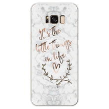 Marble Letter Case For Samsung Galaxy J2 J3 J5 J7 Prime S6 S7 Edge S8 S9 Plus A3 A5 A6 A8 Note 8 9 2016 2017 2018 TPU Back Cover