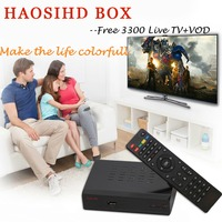 New/Renew HAOSIHD R1 IPTV box receiver with iptv adult subscription free 3500 europe portugal belgium ireland live tv with VOD