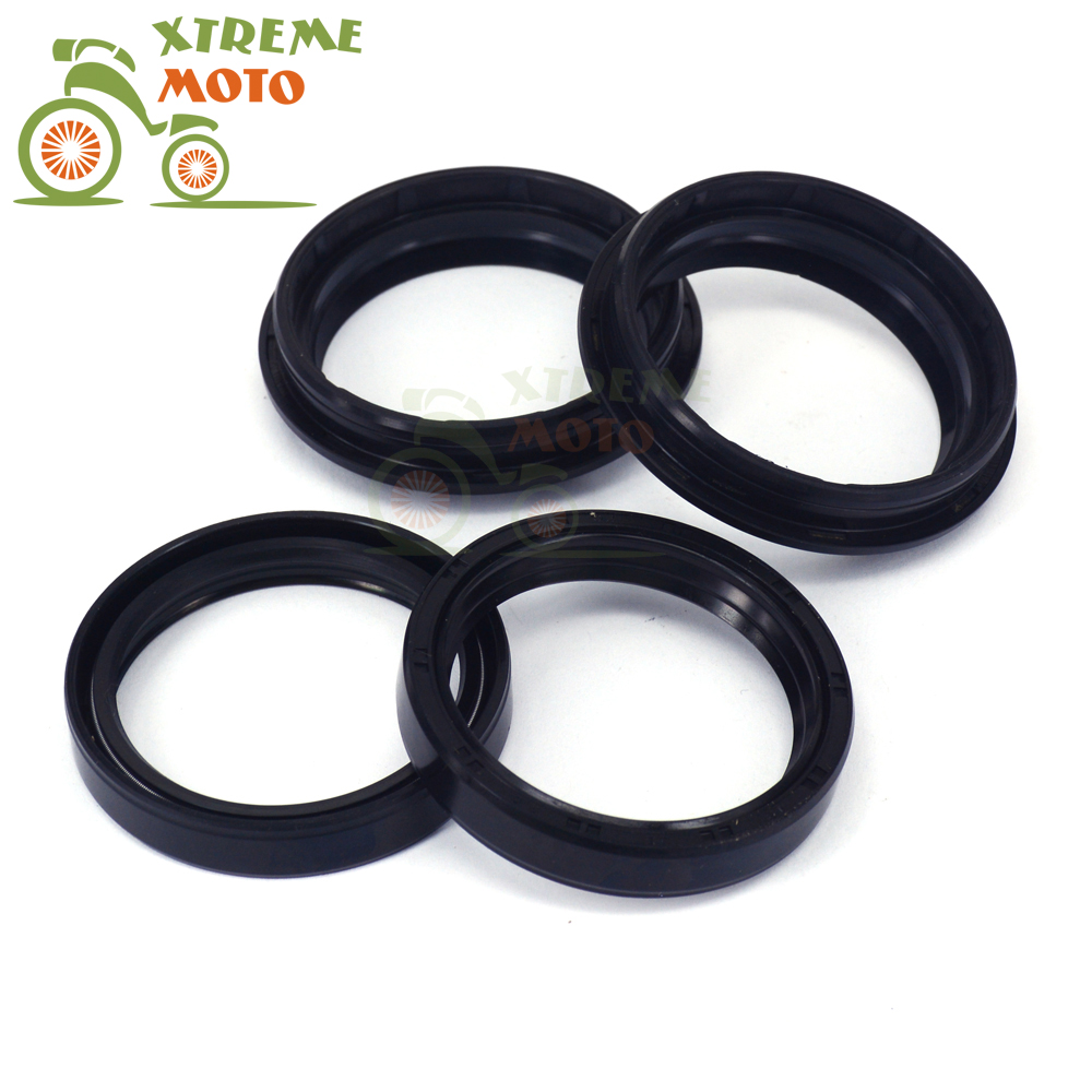 37*50*11 Motorcycle Front Fork Damper Oil Seal and Dust Seal Cover For HONDA CB85R CB80R CRF150R <font><b>CRF150RB</b></font> NX250 XR250R CBR600F image