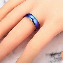 1 шт. магнитотерапевтическое Радужное кольцо 16-23 мм титановое стальное кольцо для похудения тонкое кольцо для мужчин и женщин ювелирные изделия для ухода за здоровьем